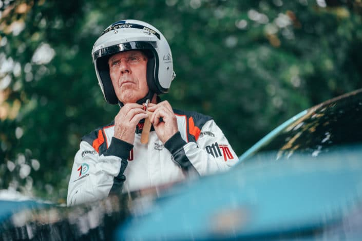 Porsche congratulates motor racing legend Richard Attwood on his 80th birthday