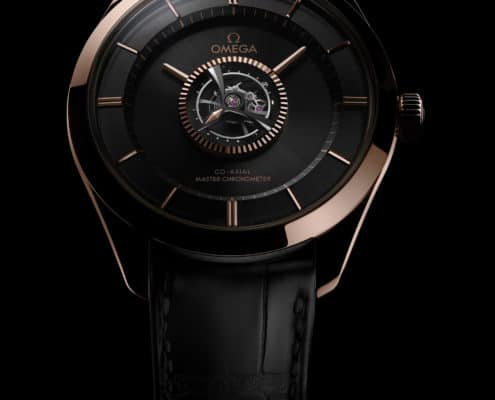 The OMEGA De Ville Tourbillon Numbered Edition