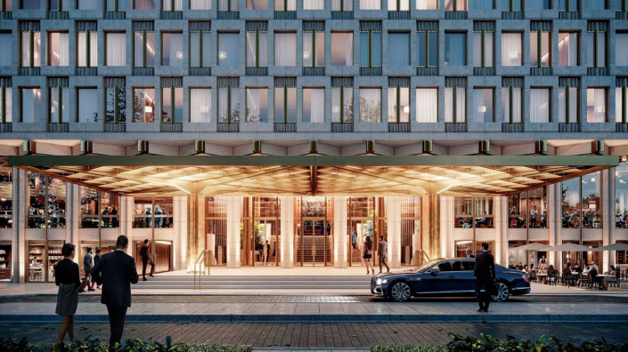 Rosewood Hotels & Resorts Debuts New Details and Official Name of Mayfair Property at 30 Grosvenor Square:The Chancery Rosewood